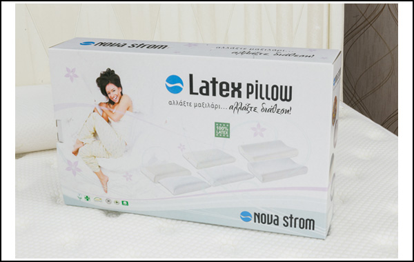 Μαξιλάρι 100% Latex 14 εκατοστών 40*65*14cm